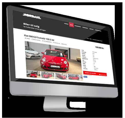 Nordahls biler case - Bilinfo hjemmeside