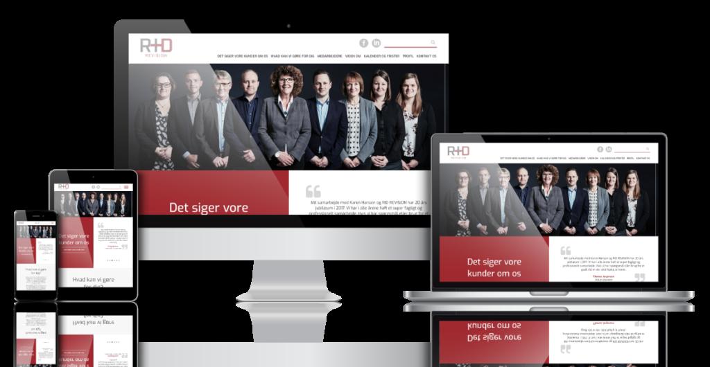 Hjemmeside | Sikker og brugervenlig hjemmeside til en god pris - PB Web